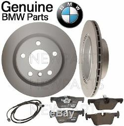Pour Bmw F22 F23 F30 F32 Kit Frein Arrière Set 2 Disque Rotors 4 Pads 1 Capteur Véritable