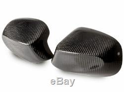 Pour Bmw Série 1 E87 E81 E82 E88 09- 11 Réel En Fibre De Carbone Les Couvertures Cf Miroir De Côté