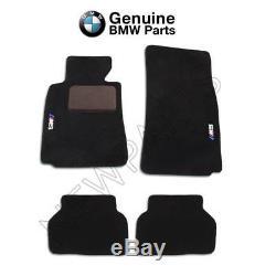 Pour Bmw Série 5 E39 M5 Noir Tapis 2000-2003 Tapis Véritable