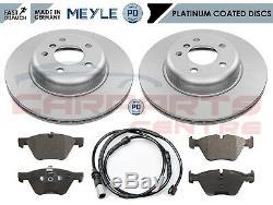 Pour Bmw Série 5 F10 518d 520d Avant Meyle Allemagne Pd Disques De Frein Coated Pads