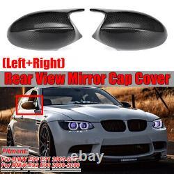 Real Fibre De Carbone M3 Style Miroir Côté Couverture Pour Bmw E90 E91 E92 E93 Pre ICV