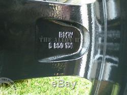Roues En Alliage 17 Pouces D'origine Bmw Série 1 F20 / F21 379 M Sport Black Edition + Pneus