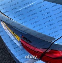 Ukcarbon Véritable Fibre De Carbone Boot De Démarrage De Couvercle De Couvercle De Couvercle De Couvercle M Performance Pour Bmw M4 F82
