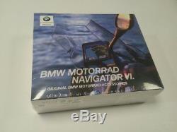 Unité Neuve D'origine Bmw Motorrad Navigator 6 VI Gps Sat Nav, En Boîte Et Scellée
