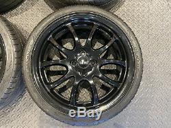 Véritable 18 Jcw Mini Cooper Jantes En Alliage Noir Bmw Mini R105 Jantes Gp R50 R53 R56