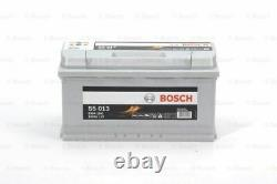 Véritable Batterie De Voiture Bosch 0092s50130 S5013 Type 019 100ah 830cca Nouvelle Qualité Supérieure