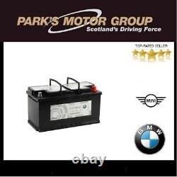 Véritable Bmw 90ah Agm Batterie 1-8 Série X3-x7 Z4 61216924023. Nouveau No 61216806755