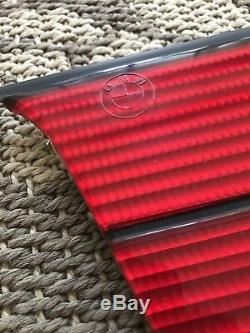 Véritable Bmw E36 M3, Sedan Alpina Heckblende Tous Rouge 82129401295 Nos Euro Rare