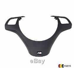 Véritable Bmw E81 / 82/87/88 E90 / 91/92/93 M Sport Volant Garniture Couverture 7845527