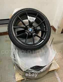 Véritable Bmw F87 M2 19 763m Black M Performance Wheel And Tyre Set 36115a23270
