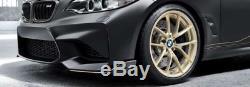 Véritable Bmw F87 M2 M 763 M Performance Forged Or Roues Avec Pneus 36112459536