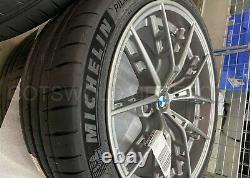 Véritable Bmw F90 M5 F92 M8 M Performance Grey 863m Roues & Pneus 36110077826