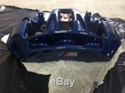 Véritable Bmw M5 F10 F12 F13 M6 Bleu Brembo Frein Avant Étriers Logement Paire