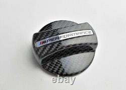 Véritable Bmw M Performance Bouchon De Remplissage De Carburant Carbone 16112472988 Nouveau