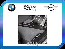 Véritable Bmw M Performance Car Carpet Mats Front Set F10 F11 51472365218