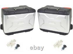 Véritable Bmw Motorrad R1200 LC / R1250 Gs Vario Panniers (paire) Comprend Serrures