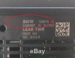 Véritable Bmw Série 5 F07 F10 F11 7258278 7304906 Lear Tms Module Pour Phares