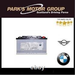 Véritable Bmw Série 90ah Batterie 1,3,5 X3,5 Z4 61217604822