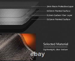 Véritable Boîtier 3d En Fibre De Carbone Sans Clé Smart Key Cover Bmw 1 2 3 4 5 6 7 Series X4