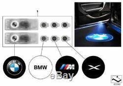 Véritable Led Bmw Porte Logo Projecteur Led Convient De Nombreux Modèles Oem 63312414105