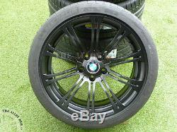 Véritable M3 E90 Bmw / 2/3 19inch 220m Sport Satin Noir Roues En Alliage + Pneus Michelin