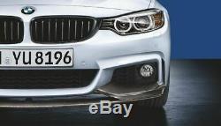 Véritable M Performance Bmw Série 4 Fibre De Carbone Splitter Avant F32 / F36 2408993