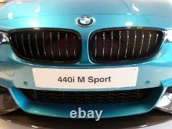 Véritable M Performance Bmw Série 4 Gloss Black Kidney Grilles F32/f33/f36