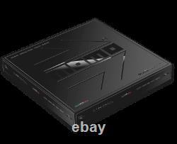 Véritable Momo Prototipo Black Edition 350mm, Volant En Cuir Haut De Gamme. Nouveau