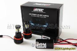 Véritable Mtec H8 V2 18w Cree Led Ange Oeil Angel Bague Ampoules Bmw F01 F02 750i 750li