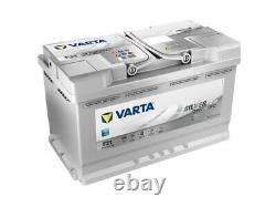 Véritable Varta Agm Voiture Batterie 580901080d852 F21 Type 115 80ah 800cca Qualité