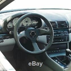 Viilante Leggera 350 Volant En Cuir Véritable Tricolore Convient Bmw M3 E30